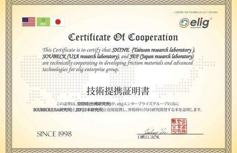گواهینامههای بین المللی الیگ