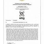 گواهینامه استاندارد مالزی