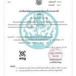 گواهینامه استاندارد تایلند
